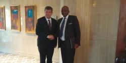 Le président du GICAM en entretien avec le directeur général de l'OIT