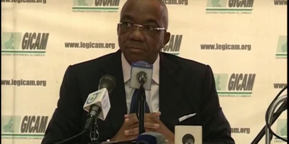 Célestin Tawamba présente les orientations de l'action du GICAM pour 2018
