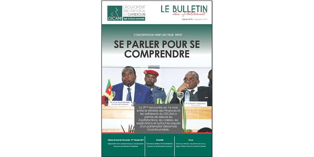 Bulletin du patronat N° 76 - Septembre 2019