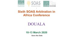Sixth SOAS Arbitration in Africa Conference