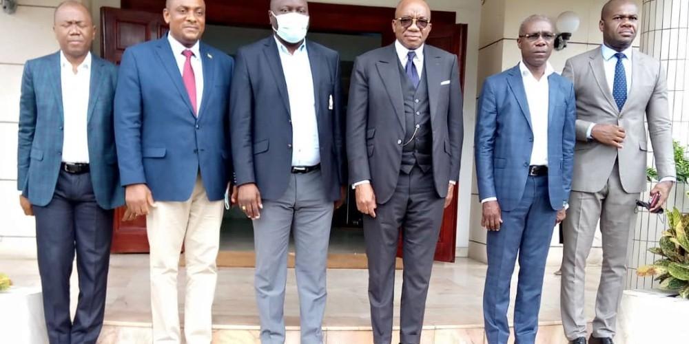Le Ministre du Transport du Gabon au GICAM